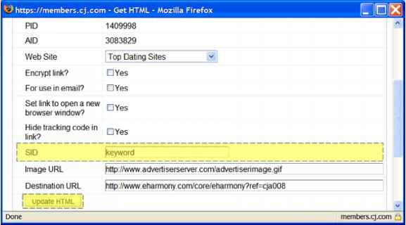 dating site affiliate link