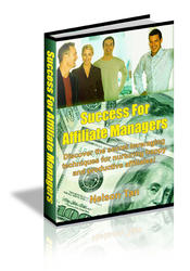 Success For Affiliate Managers