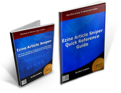 Ezine Article Sniper Resources