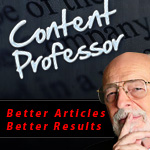 Content Professor - The World's Easiest Web Based Article Spinner!