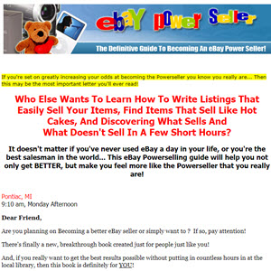 Become an eBay PowerSeller in 90 Days