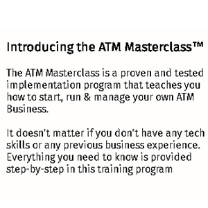 Build your very own ATM business