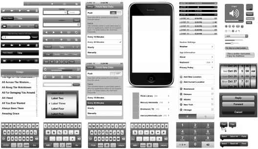 Iphone Interface Vector